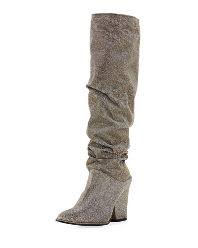 Smashing Sparkle Knee Boot