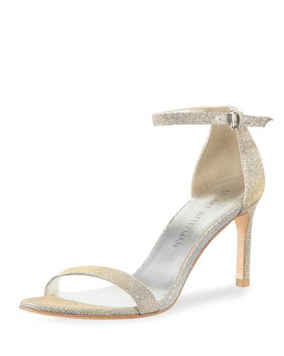 Nunaked Straight Sparkle Sandal