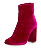 Saleema Velvet 90mm Bootie