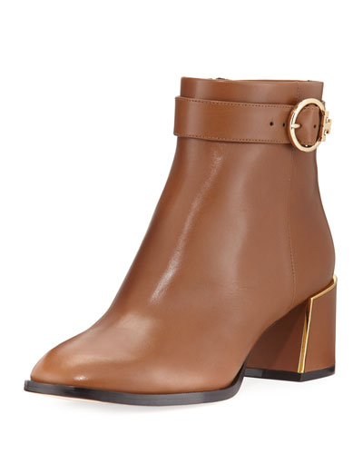 Sofia Leather 60mm Dress Bootie