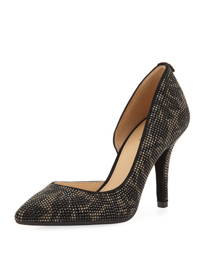 Nathalie Flex Beaded High-Heel Pump