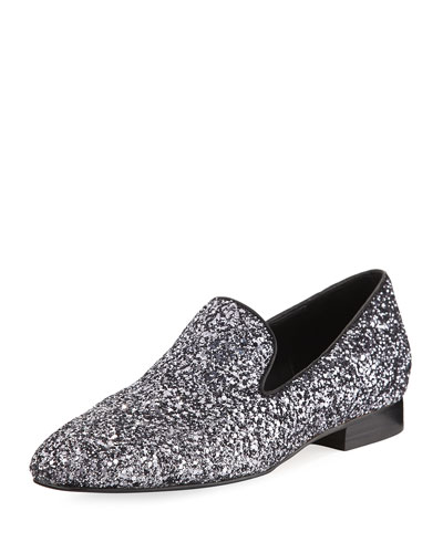 Lyle Glitter Smoking Slipper