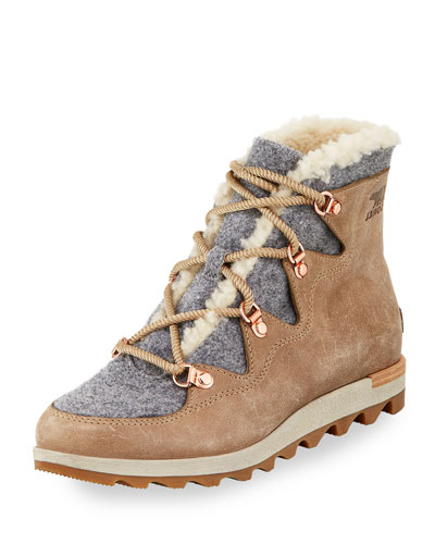 Sneak Chic Alpine Holiday Boot