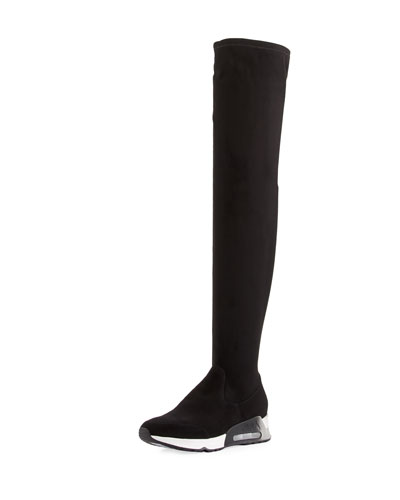 Limited Over-the-Knee Sneaker Boot