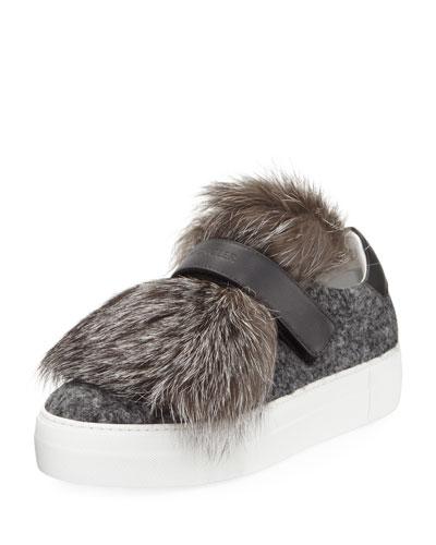 Victoire Fox Platform Sneaker