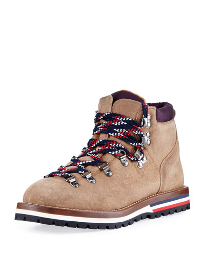 Blanche Glittered Suede Hiking Boot