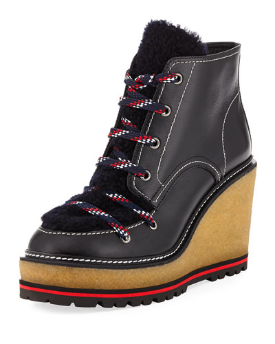 Zelie Wedge Platform Boot