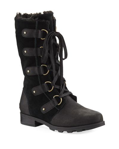 Emelie Waterproof Leather/Suede Boot