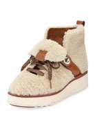 Urban Hiker Shearling Platform Boot