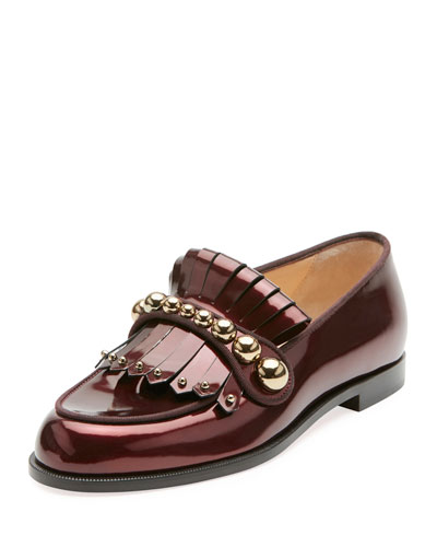 Octavian Bolla Red Sole Loafer