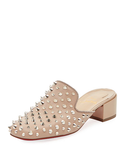 Mulaconka Spike Red Sole Mule