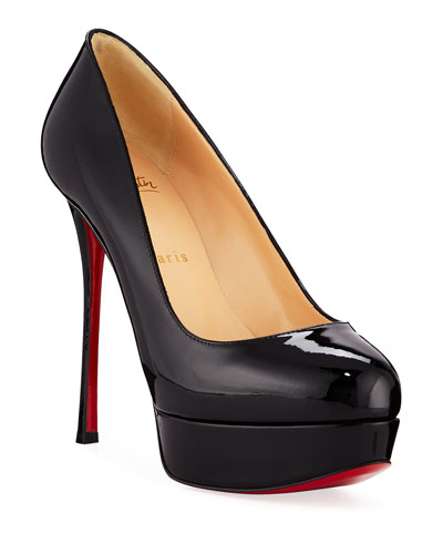 Dirdittta Patent Platform Red Sole Pump