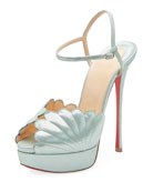 Botticella Alta Platform Red Sole Sandal
