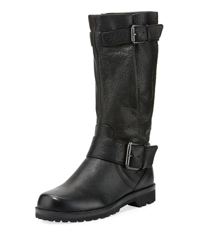By Kenneth Cole 'Buckled Up' Boot, Black