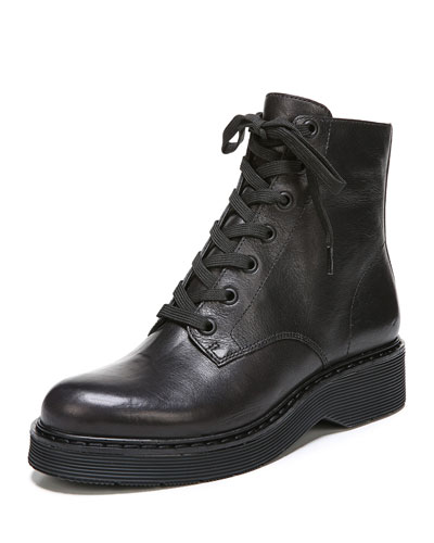 Monastir Lace-Up Platform Boot