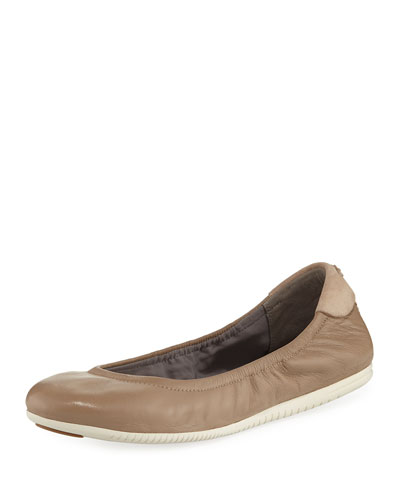Studiogrand Napa Ballerina Flat, Maple Sugar