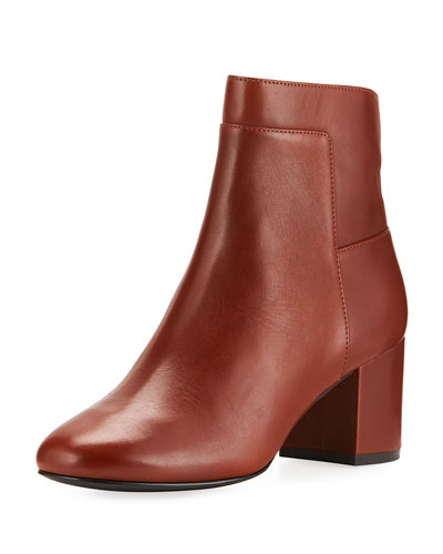 Arden Grand Smooth Leather Bootie, Brown