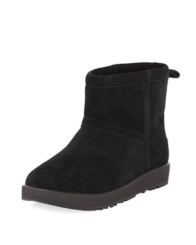 Classic Mini Waterproof Suede Boot