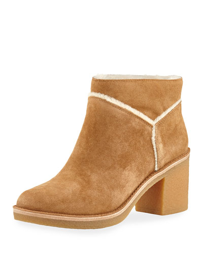 Kasen Soft Suede Ankle Bootie