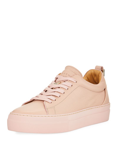 Alice Calf Leather Platform Tennis Shoe