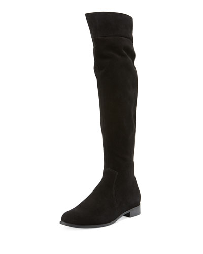 Secret Suede Over-the-Knee Boot