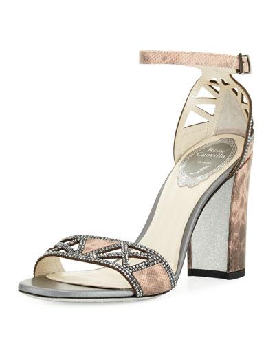Strass Karung Embellished Sandal