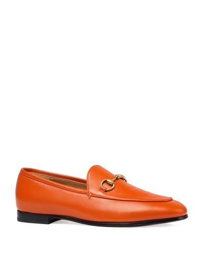 Flat Jordan Leather Loafer