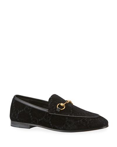 Jordaan Velvet GG Loafer