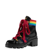 Trip Rainbow Leather Hiking Boot