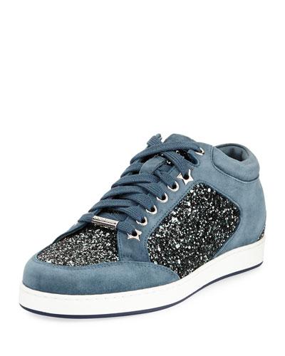 Miami Coarse Glitter Sneaker