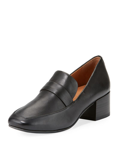 Eliott Low-Heel Leather Loafer