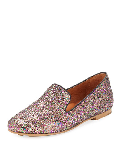 Eugene Glitter Smoking Slipper