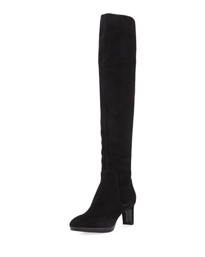 Danika Over-The-Knee Suede Boot