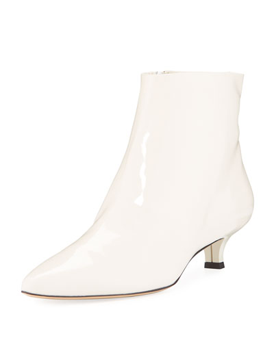 Coco Patent Leather Booties