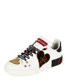 Sacred Heart Patchwork Trainer