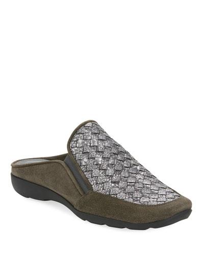 Giana Woven Comfort Mule