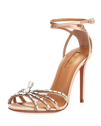 105mm Ankle-Wrap Spider Sandal