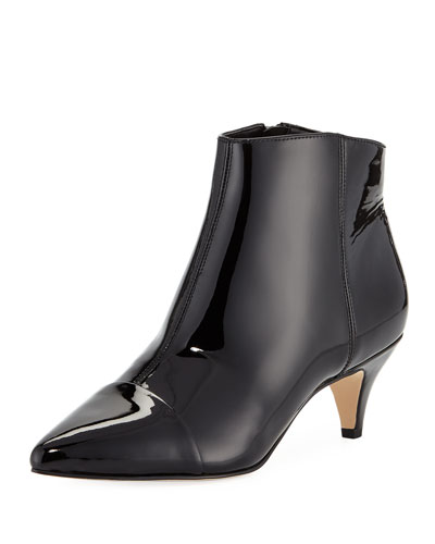 Kinzey Patent Leather Bootie
