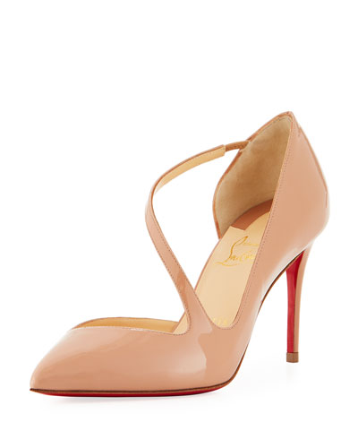 Christian Louboutin Jumping Point 85 Toe Pumps