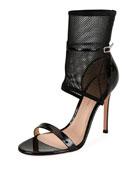 Jordan Patent & Mesh 105mm Sandal