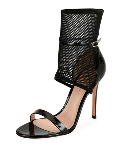 Patent Net Ankle-Cuff 105mm Sandal