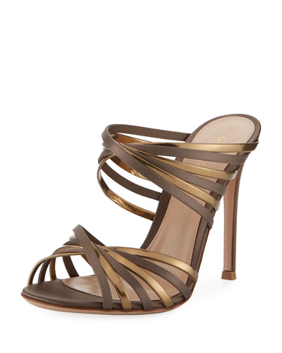 XX Two-Tone Metallic Sandal