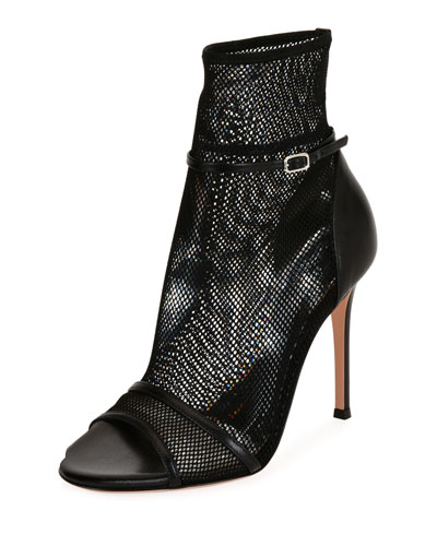 Idol Mesh Open-Toe 105mm Bootie