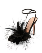 Selah Feather Ankle-Wrap 105mm Sandal