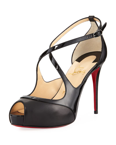 Mirabella Strappy 100mm Red Sole Pump