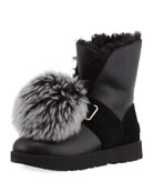 Isley Water-Resistant Boot with Removable Pompom
