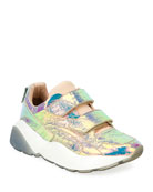 Prisma Grip-Strap Multicolor Sneaker