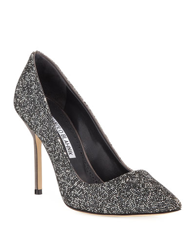 BB Rock Crystal-Encrusted 105mm Pump