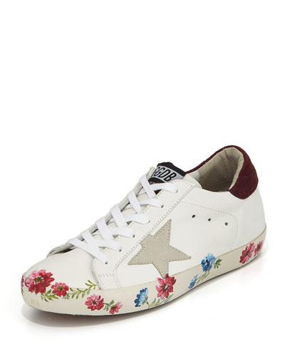 Superstar Hand-Painted Low-Top Sneaker