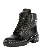Ranger Studded Leather Army Boot